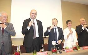 يوم للنبيذ اللبناني في جنيف برعاية عون وباسيل يتعهد بالعمل لفتح أسواق جديدة
