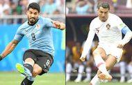 مواجهة تحبس الانفاس اليوم بين الاوروغواي والبرتغال والناس يتساءلون: لمن الفوز في موقعة الديوك والتانغو؟