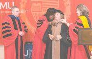 دكتوراه من  AMU الاميركية لرئيسة AUST هيام صقر