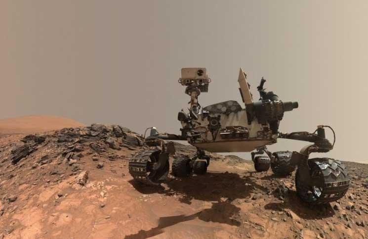 عاصفة رملية على المريخ قطعت الاتصال مع روبوت لـ«ناسا»