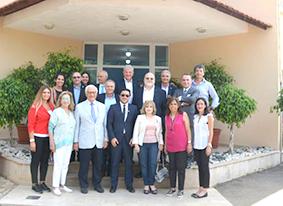 تجمع رجال الأعمال اللبنانيين زار مركز «أم النور» وزمكحل اشاد بجهوده لمواجهة آفة المخدرات والإدمان