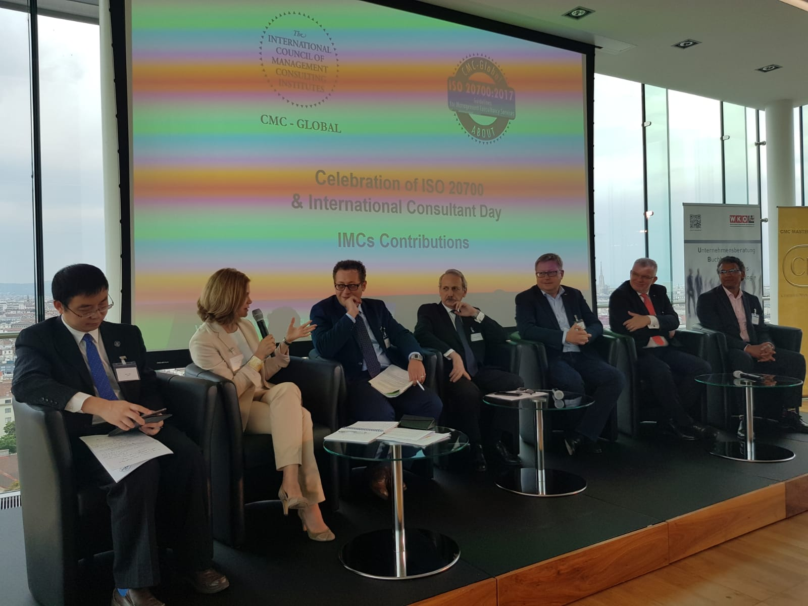 لبنان في مؤتمر الإستشاريين الدوليين في الادارة في فيينا