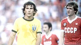 عظماء في تاريخ  كرة القدم... ولكن.. الفخ الايطالي يدمر حلم الاسطورة زيكو