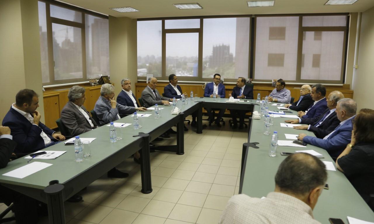 المنلا في إجتماع نقابة المقاولين: مؤتمر سادر سيفعّل الحركة الإقتصادية