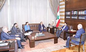 الحريري رأس اجتماعا موسعا للبحث في سبل تنشيط معرض رشيد كرامي