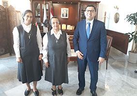اتفاقية دعم وتعاون بين المحافظ المكاوي ورهبنة مار يوسف الظهور«العالمية»