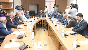 لجنة الأشغال توصي بقمع التعديات  على مجرى نهر الليطاني