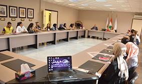 غرفة طرابلس تحتضن دورة تدريبية لطلاب كليات إدارة الأعمال  بالشمال