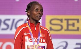 ذهبية سباق ماراثون السيدات للبحرين والكويت تتألق