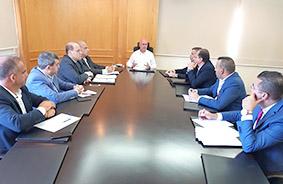 فنيانوس رأس اجتماعا لمديرية الطيران المدني