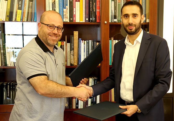 توقيع إتفاقية تعاون لحفظ أرشيف استوديو سعادة (جوزف) - زحلة