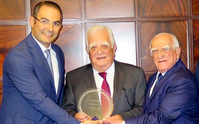«جي بي مورغان» يمنح «فرنسَبنك» جائزة جودة عمليات المقاصة بالدولار