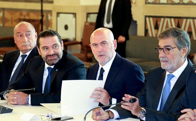 الحريري يشارك في إطلاق المرحلة التحضيرية لتوسعة المطار:  نجاحه حيوي ويشكل جزءا من برامج «سيدر»
