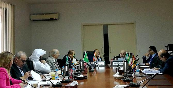 انعقاد الاجتماع الدوري للمركز العربي للبحوث القانونية والقضائية في بيروت