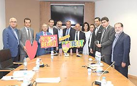 لجنة الشباب والرياضة النيابية اطلعت على نشاطات بيروت ماراثون