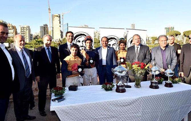 كأس عام زايد 2018 للخيول في ميدان بارك برعاية السفير  حمد الشامسي ومحافظ بيروت