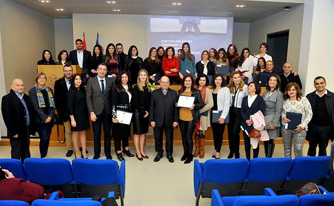 تخريج الدفعة الثانية لمركز التعليم المستمر في جامعة الروح القدس