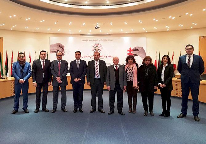 تحضيرات لمنتدى القطاع الخاص العربي المقرر الاربعاء المقبل برعاية الحريري