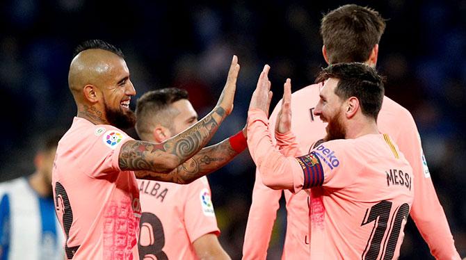 برشلونة لتجنب الخروج من ثمن نهائي الكأس لأول مرة منذ 2010