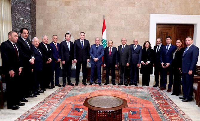 عون لتجار بيروت: اجتماع بعبدا ضبط اللغط المالي
