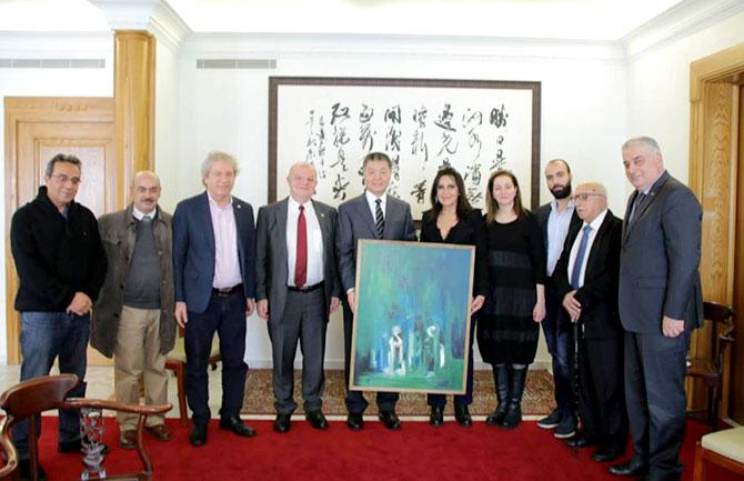 «طريق الحرير» بين السفير كيجيان والجمعية العربية - الصينية للتعاون