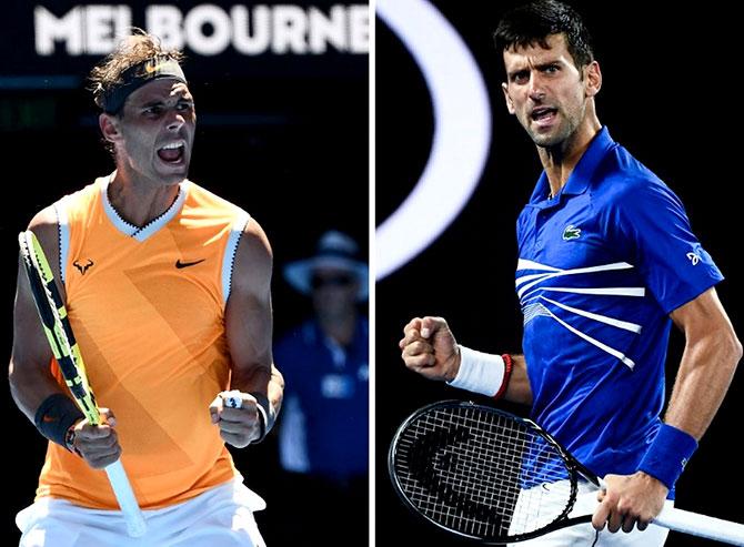 كرة مضرب / بطولة اوستراليا المفتوحة - نادال يقف بين نوفاك ديوكوفيتش واللقب القياسي