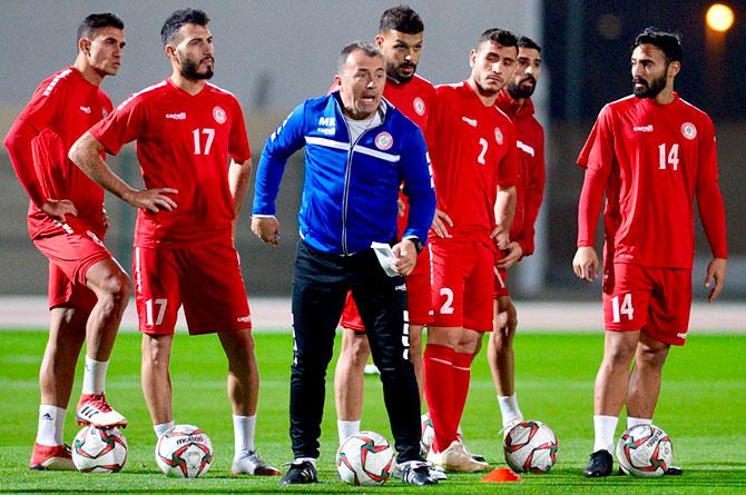 كرة قدم / كأس آسيا الـ17 - منتخب لبنان اختتم تحضيراته ويلتقي السعودية اليوم