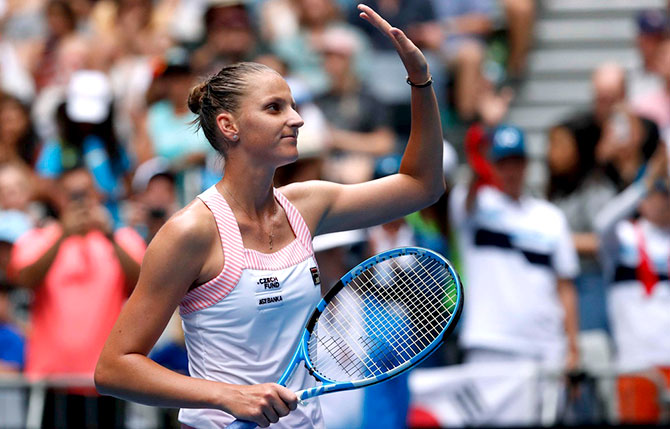 بليسكوفا بصعوبة الى الدور الثالث في بطولة اوستراليا المفتوحة