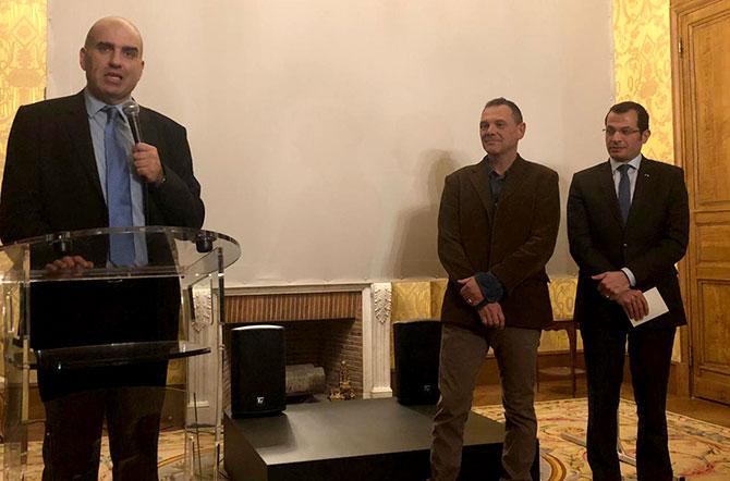 لقاء في السفارة اللبنانية بباريس حول ديبلوماسية المطبخ اللبناني