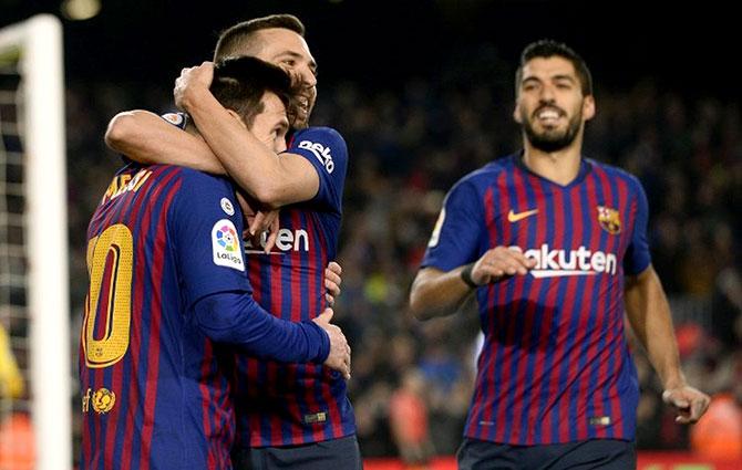 برشلونة يتطلع لفوزه الثامن تواليا في مواجهة جيرونا في المرحلة الـ21 من الدوري الاسباني
