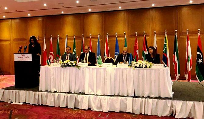 الخطيب في مؤتمر وزراء البيئة العرب: كلفة إدارة النفايات أقل من كلفة العلاج