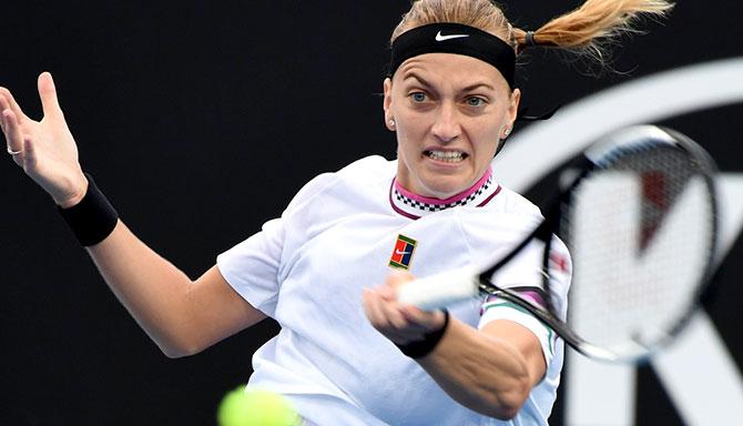 بطولة استراليا المفتوحة لكرة المضرب - كفيتوفا تتجاوز عقبة بيغو بسهولة