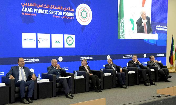 منتدى القطاع الخاص العربي يوصي بإزالة المعوقات غير الجمركية خلال مدة زمنية محددة