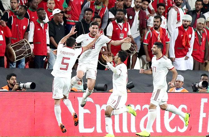 كرة قدم / كأس آسيا - الامارات 2019 - ايران تواجه الصين على مقعد في نصف النهائي