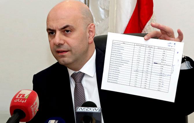 حاصباني يكشف مضمون رده على كتاب الصراف: 299 دواء مخفض الاسعار  وسيتم النشر في 1 شباط