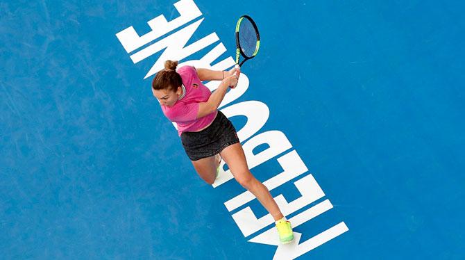 بطولة استراليا المفتوحة لكرة المضرب- هاليب تعاني لتخطي الدور الاول