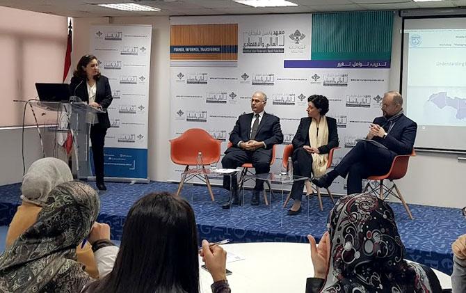 معهد باسل فليحان يستضيف ورشة عمل عن إدارة الأثر المالي للشراكات بين القطاعين