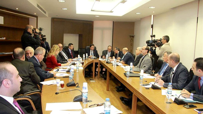 لجنة المال تبحث في الاعتماد الاضافي لاستكمال تنفيذ مشاريع عائدة للعام 2014