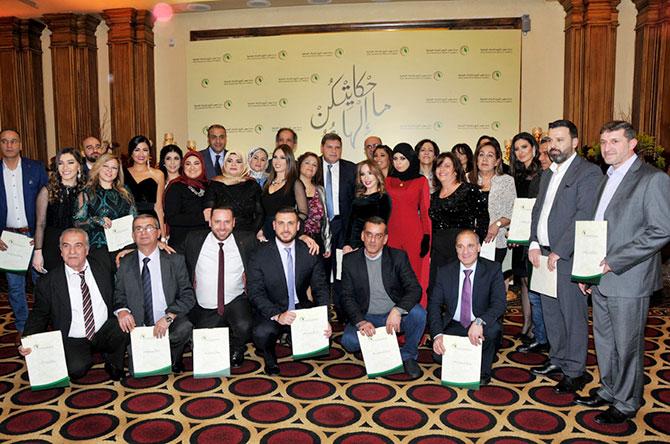 سقلاوي خلال تكريم «الريجي» للمتقاعدين والمميزين: 628 مليار ليرة عائدات القطاع في 2018