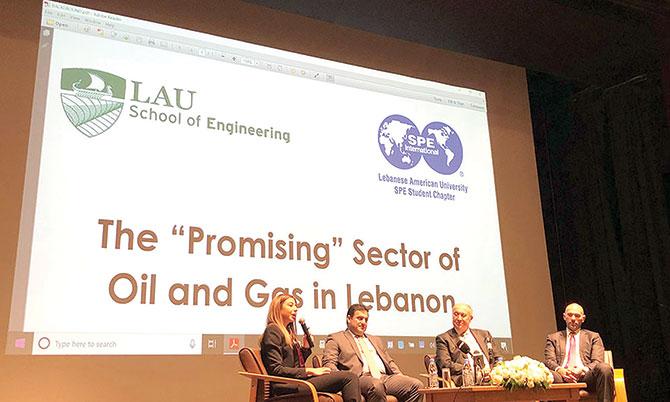 ندوة عن النفط في «اللبنانية - الاميركية» تركز على الشفافية والنظام الضريبي المتطور
