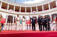 ايقاد شعلة الأمل في اليونان للألعاب العالمية للاولمبياد الخاص بأبو ظبي 2019