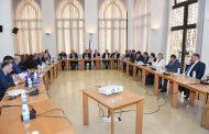 لجنة الاقتصاد تجتمع بحضور وفد من البنك الدولي