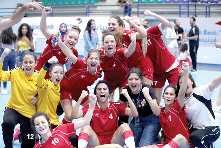 بطولة آسيا للشابات باليد لبنان يصطدم بكوريا الجنوبية