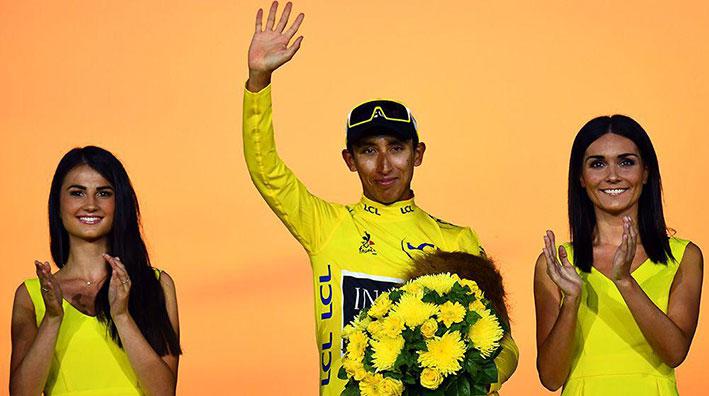 القصة المثيرة للكولومبي ايغال برنال اصغر دراج يفوز بطواف فرنسا