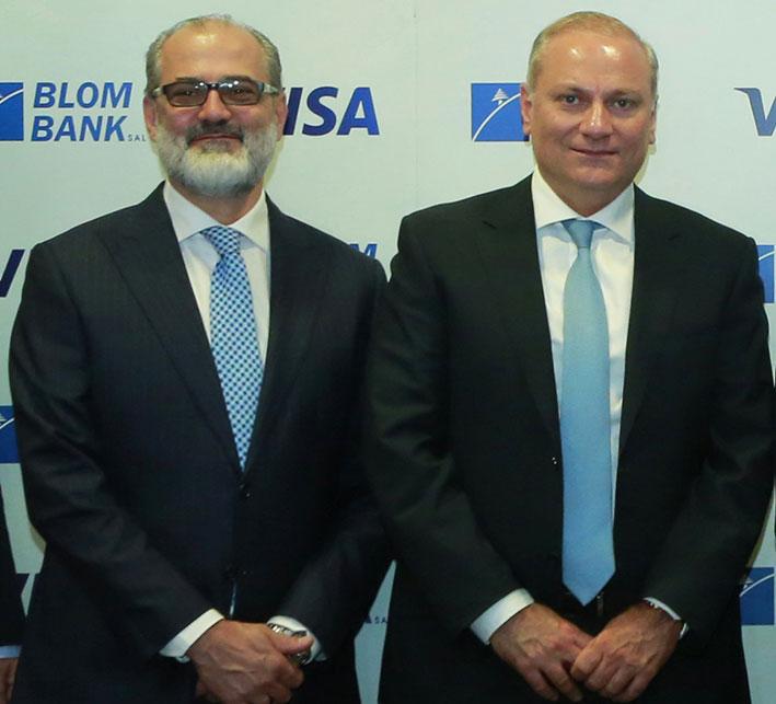 «لبنان والمهجر» و«فيزا» يطلقان بطاقة لذوي الملاءة العالية