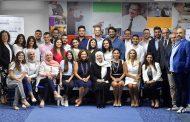 الحريري تزور «معهد باسل فليحان» وتبدي ارتياحها إلــى توقيع الموازنة