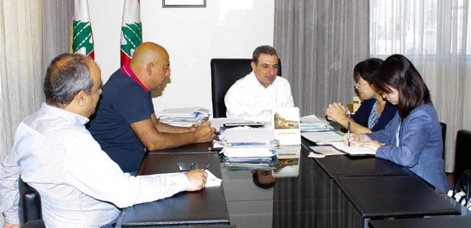 أبو فاعور: نشجّع الصينيين على فتح مصانع في لبنان