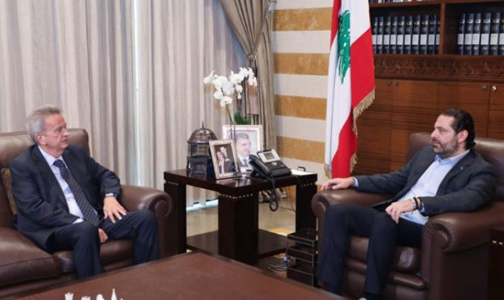 الحريري يعرض «الإصلاحات» مع سلامة وجمعية المصارف