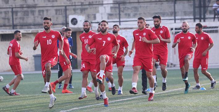 العد التنازلي لمباراة لبنان وتركمانستان في تصفيات المونديال