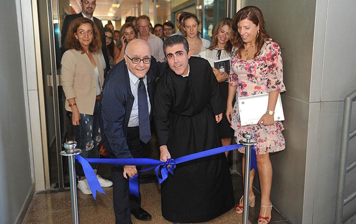 افتتاح أول نشاط حول بناء القدرات في جامعة الروح القدس
